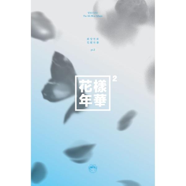 BTS - Mini Album Vol.4 [The most beautiful moment in life pt.2] หน้าปก Blue ver.