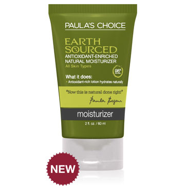 EARTH SOURCED Antioxidant-Enriched Natural Moisturizer 60ml