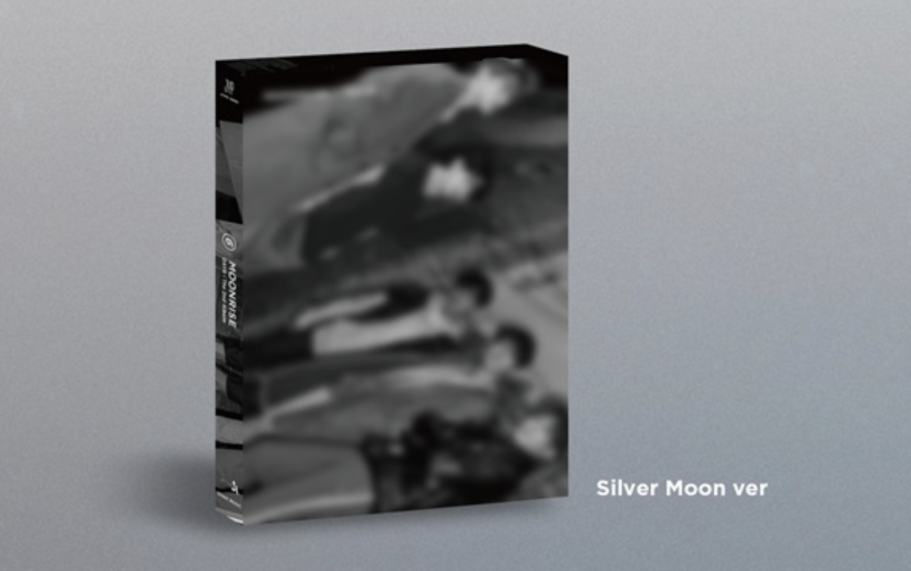 DAY6 - Album Vol.2 [MOONRISE] หน้าปก SILVER MOON ver .