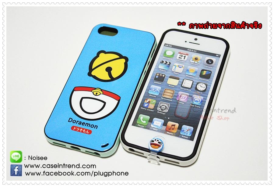 Lightning Cap โดราเอม่อน จุกกันฝุ่น + ปุ่ม Home สำหรับ iPhone5 iPad 4 iPad Mini