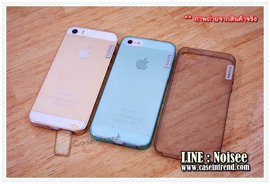 เคส iPhone5/5s Remax บาง 0.5 mm [TPU บางนิ่ม]
