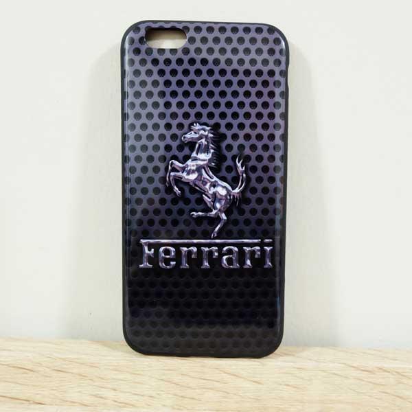 เคสไอโฟน 5/5s/SE เคสยางลาย Ferrari
