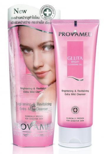 Provamed Gluta Bright Cleansing gel 115 ml.