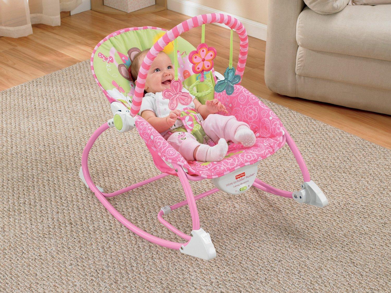 Fisher-Price - Infant to Toddler Rocker, Pink