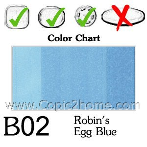 B02 - Robin's Egg Blue