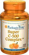 Puritan's Pride - Super Vitamin C-500 Complex 250 Tablets