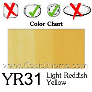 YR31 - Light Reddish Yellow