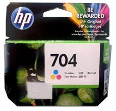 HP INK 704 TRICOLOR (แท้) CN693A