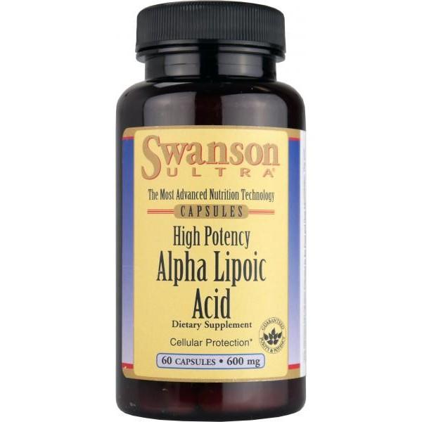Swanson Ultra Alpha Lipoic Acid 600 mg / 60 Caps