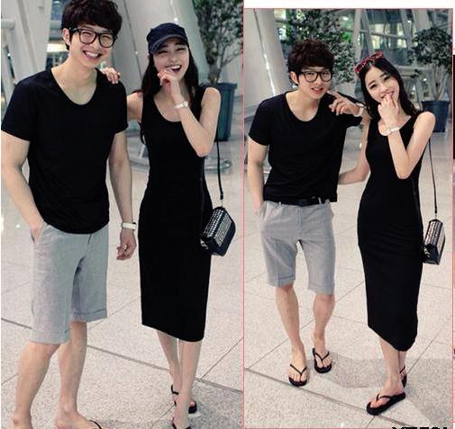 ชุดคู่รัก สีดำค่ะ