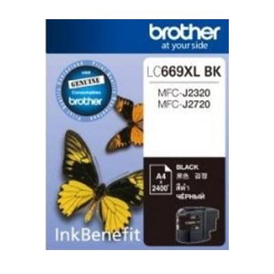 BROTHER INK CARTRIDGE LC-669XLBK สีดำ