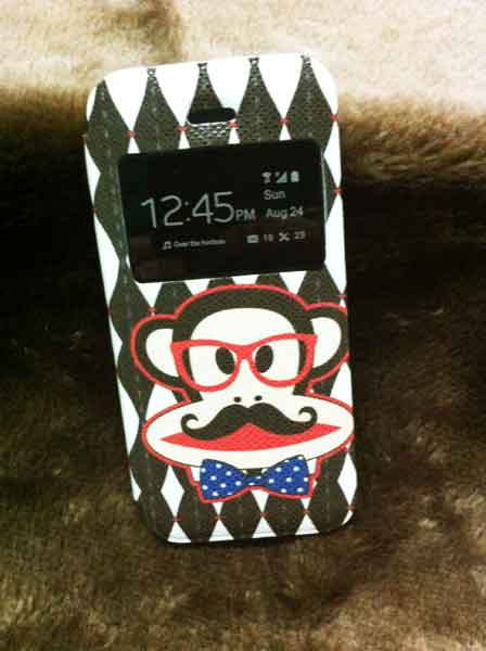 case iphone 5/5s ฝาพับ พอล แฟรง