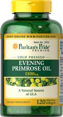 Puritan's Pride Evening Primrose Oil 1300 mg 120 Softgels