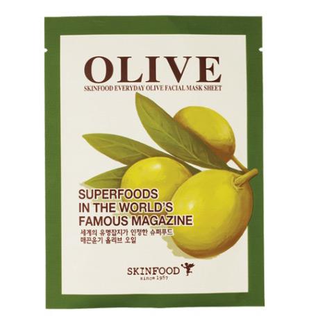 Skinfood Everyday Olive Facial Mask Sheet