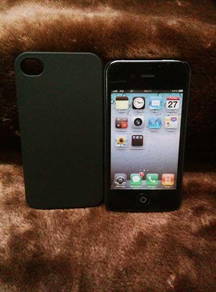 Black matt case for iphone 5 5s
