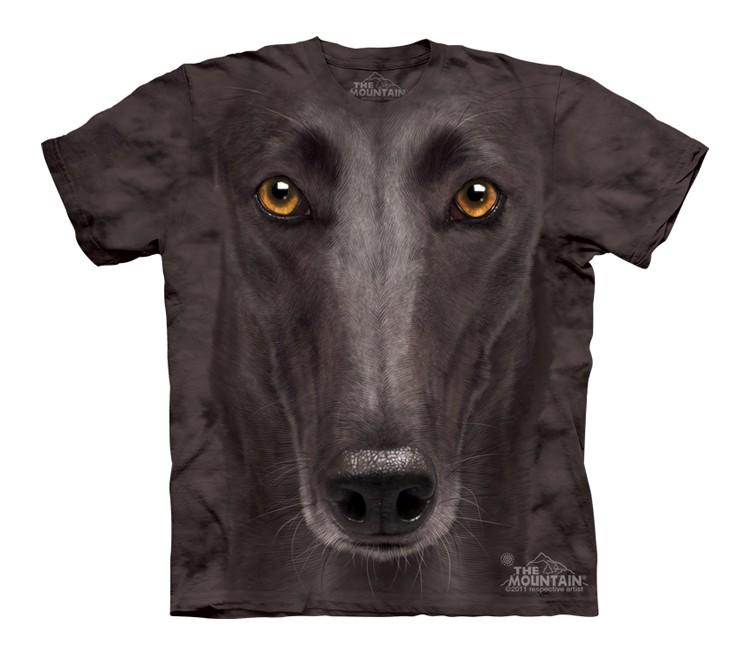 Black Greyhound Face - Youth