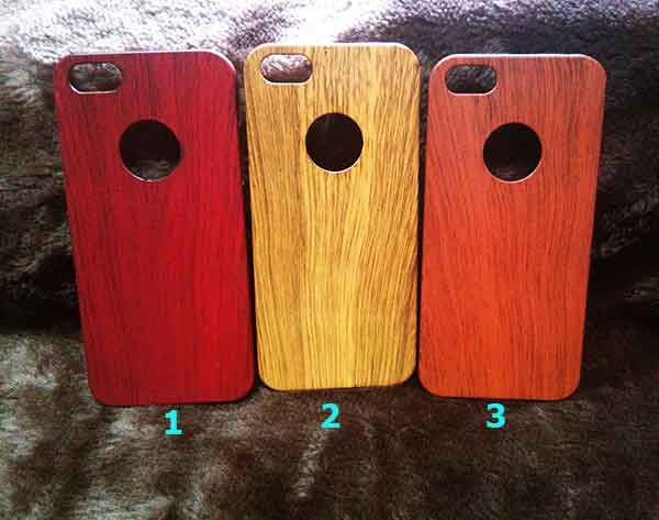 Case iphone 5 wood