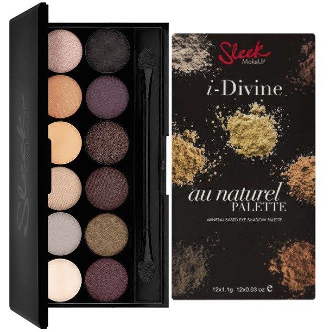 Sleek Makeup I-Divine Eyeshadow Palettes # Au Naturel โทนธรรมชาติเหมาะกับทุกโอกาสค่ะ โทนสีน้ำตาล แต่งได้ทุกงานมีเนื้อทั้งแบบชืมเมอร์ฺและMatte