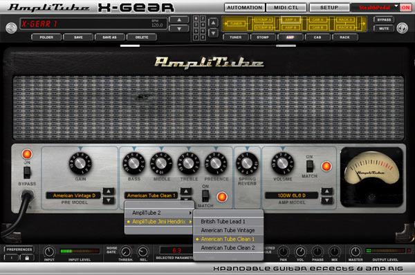 IK Multimedia Amplitube X-GEAR 1.5