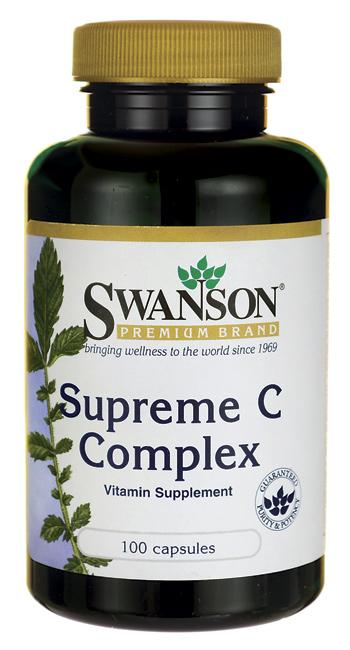 Swanson Vitamins - Supreme C Complex 1000 mg 100 Capsules