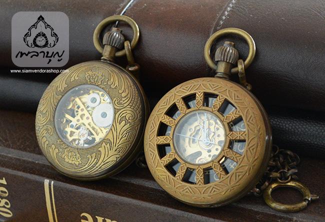 นาฬิกาถวายพระลายธรรมจักร