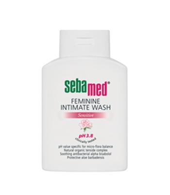 SEBAMED FEMININE INTIMATE WASH pH 3.8 50 ML ซีบาเมด ฟิมินีน อินทิเมท วอช พีเอช 3.8 ขนาด 50 มล. ผลิตภัณฑ์ทำความสะอาดจุดซ่อนเร้น สูตรอ่อนโยน สำหรับผู้หญิง