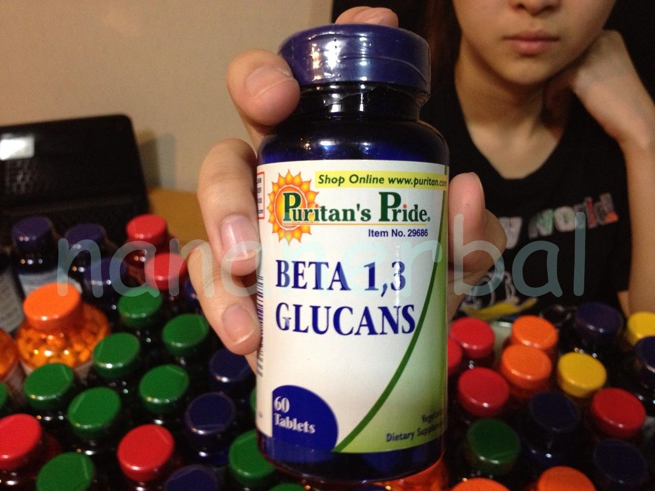 Puritan's Pride Beta 1,3 Glucan 60 tablets