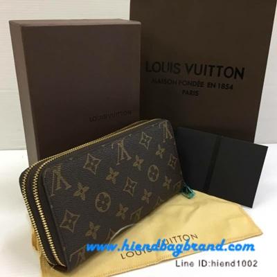 กระเป๋าแบรนด์Louis Vuitton wallet Zippy monograme งานHiend