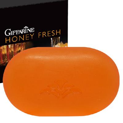 Giffarine สบู่ล้างหน้า กิฟฟารีน ฮันนี่ เฟรช บำรุงผิวให้นุ่มนวลด้วยคุณค่าการบำรุงของน้ำผึ้งบริสุทธิ์ และวิตามิน อี (70 กรัม x 1 ก้อน)