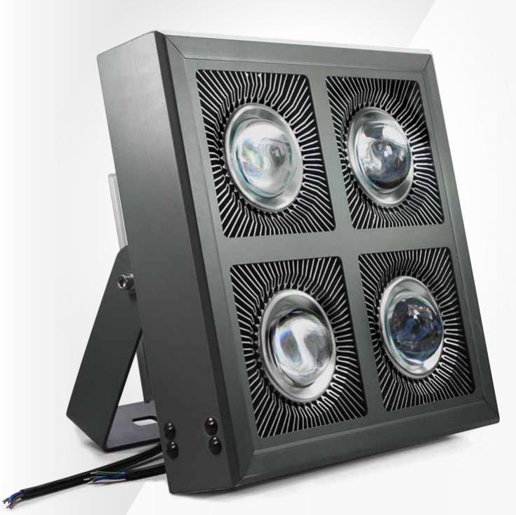 โคมไฟโรงงาน LED Low Bay 400W เหลี่ยม