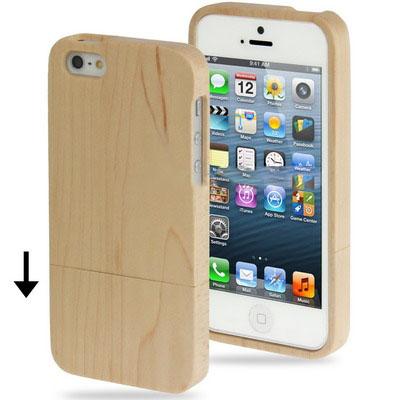 Case เคส Maple Wood iPhone 5