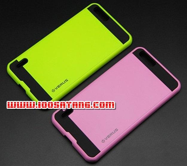 (413-013)เคสมือถือ Case Huawei Honor 6 Plus เคสนิ่มพื้นหลังพลาสติกทูโทนสุดสวย