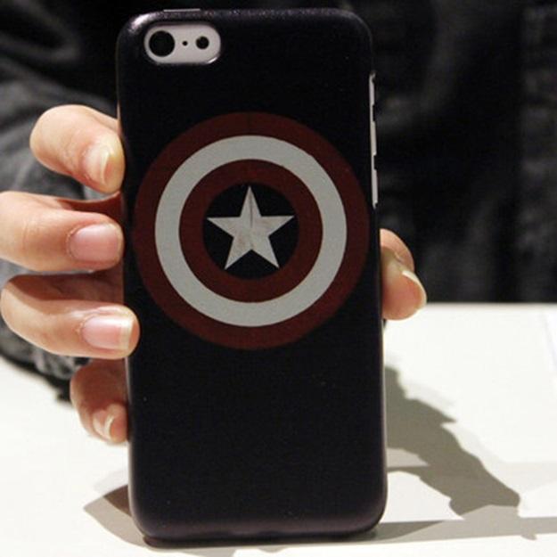 (พร้อมส่ง12)เคสมือถือไอโฟน Case iPhone5C เคสพลาสติกแนวๆ เทห์ๆ