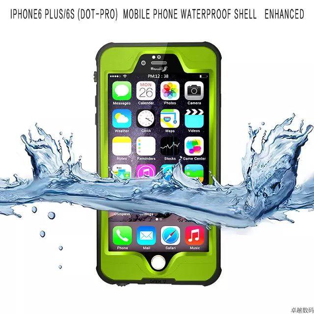 (662-004)เคสมือถือไอโฟน Case iPhone 6/6S เคสแนว Adventure กันน้ำ กันฝุ่น หิมะ IP68