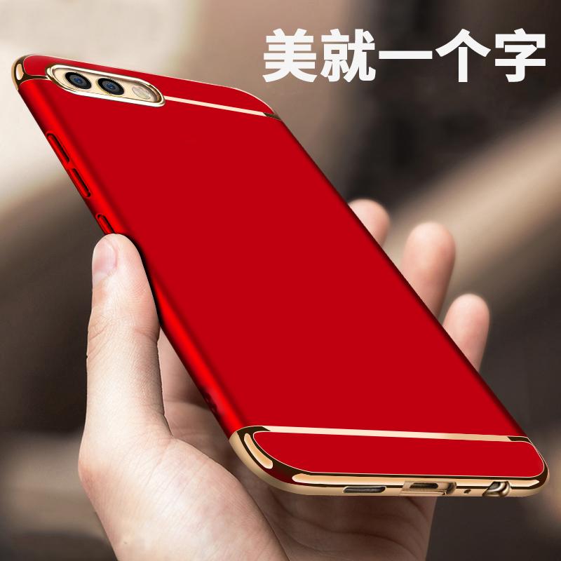 (025-946)เคสมือถือ Case Huawei Honor View 10 เคสพลาสติกสีสดใสขอบแววสไตล์แฟชั่น