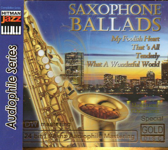 CD,Saxophone Ballads(Gold CD)