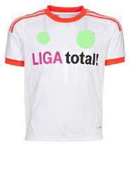 เสื้อทีมเยือน Baryern 2012 - 2013 (LIGA TOTAL)
