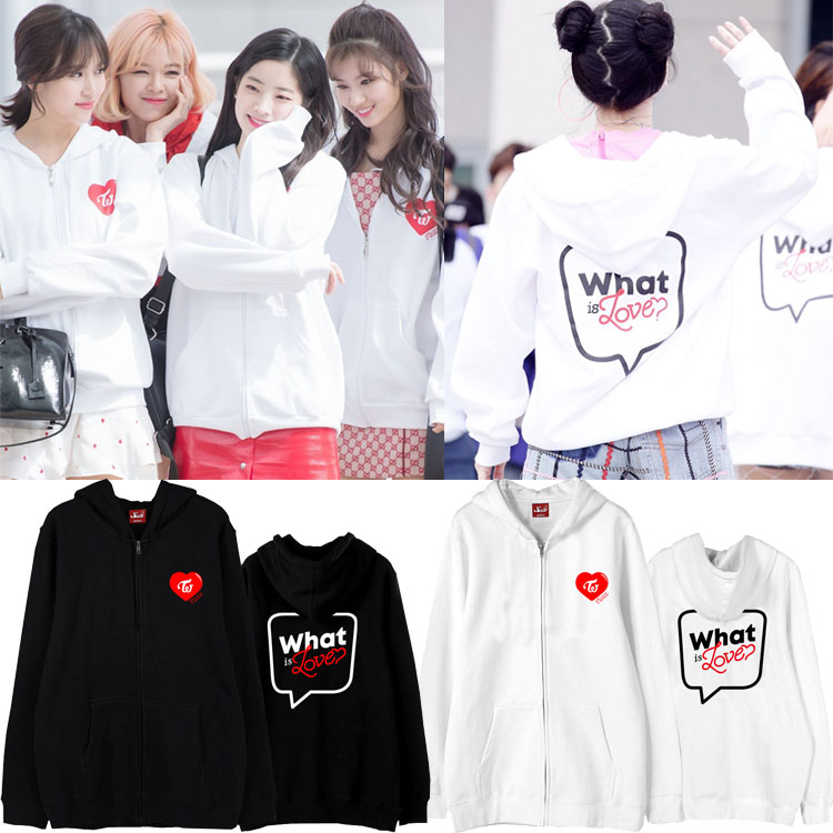 Jacket Hoodie TWICE What is Love Fanmeeting -ระบุสี/ไซต์-