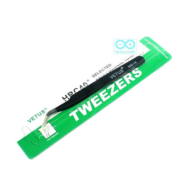 เครื่องมือจับอุปกรณ์อิเล็กทรอนิกส์ Tweezer ESD-15