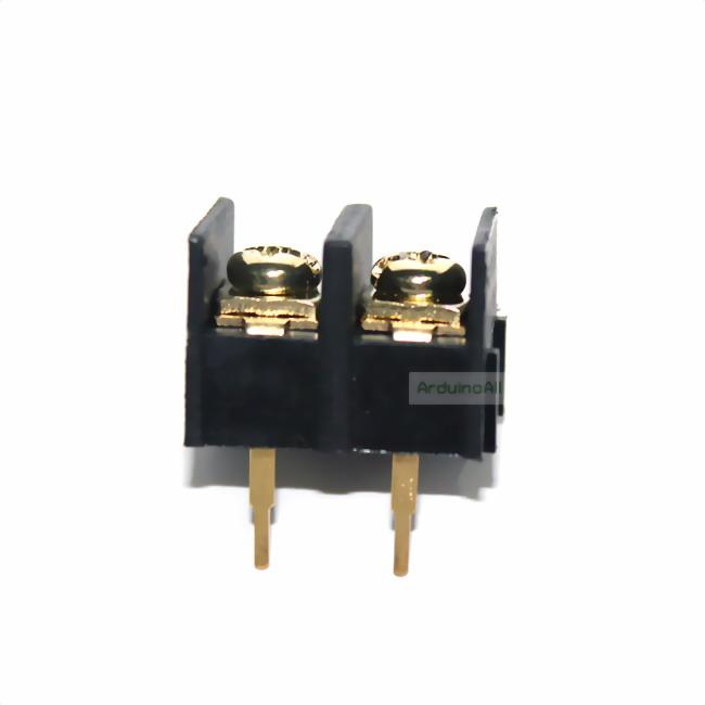 ขั้วต่อ terminal blocks 2p connector ระยะขา 10mm 2 ขา Terminal Block Connector 2 pin 300V/25A Pitch 10.00ma