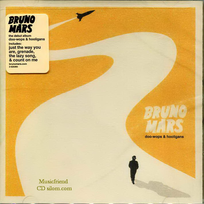 CD,Bruno Mars - Doo Wops & Hooligans 2010