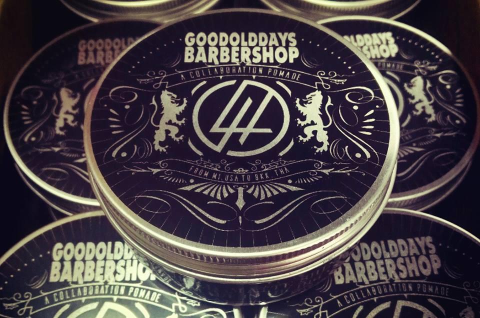 Lockhart's x GoodOldDaysBarberShop (Oil Based Clay) ขนาด 4 oz.