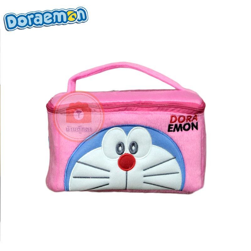 กระเป๋าใส่ของ โดเรม่อน ชมพู