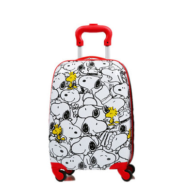*Pre Order* Disney Snoopy ABS trolley suitcase caster 18 inch