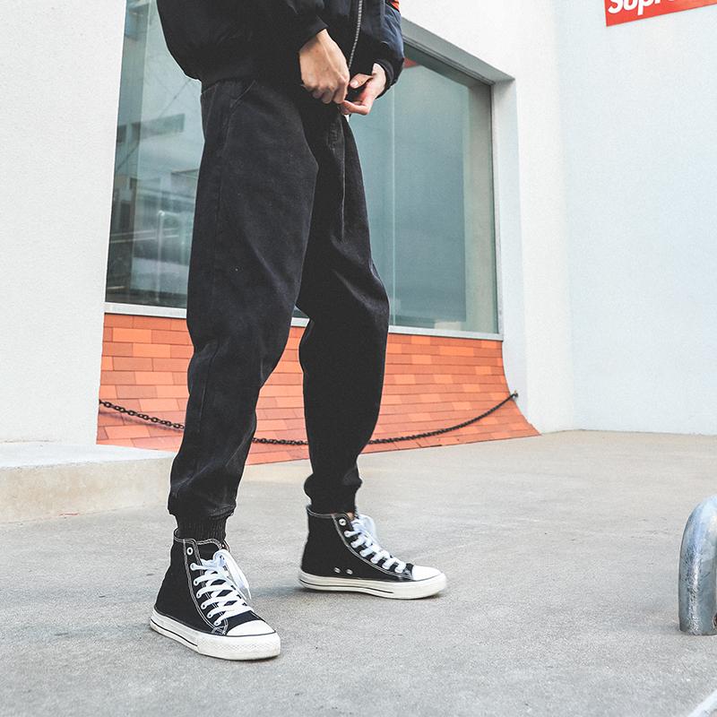 *Pre Order*LMTNZD Jogger Pants กางเกงยีนส์แฟชั่นชายญี่ปุน/size S,M,L,XL,XXL