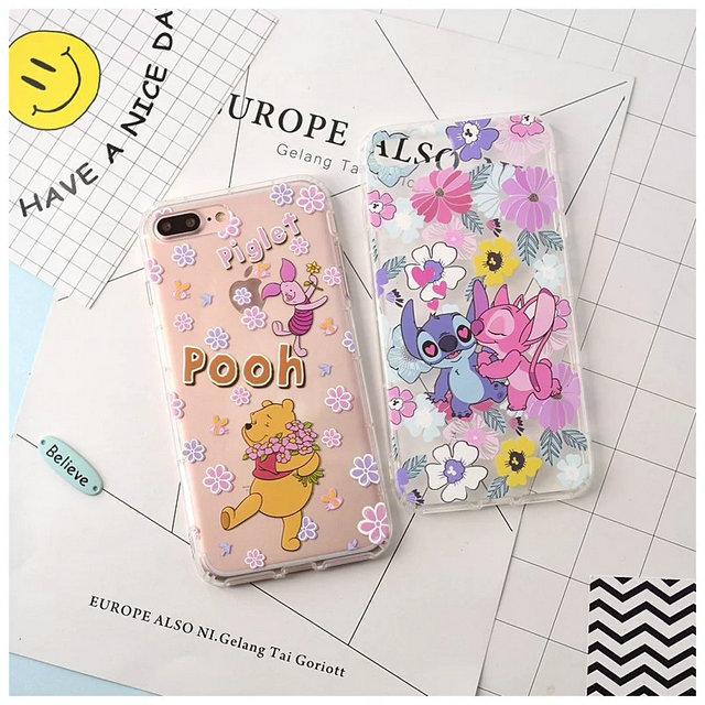 เคสไอโฟน 6Plus /6sPlus (TPU Case) Stitch