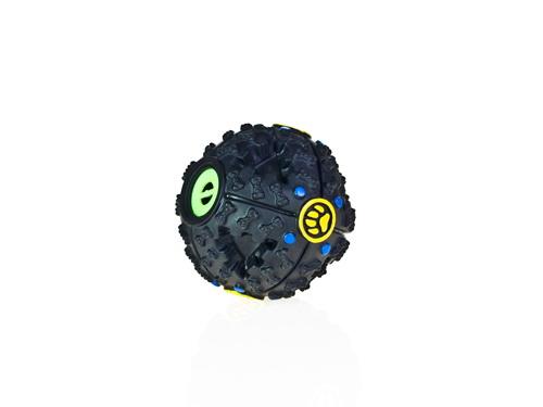 ของเล่นสุนัข บอลพลาสติกมีเสียงไซส์เล็ก
