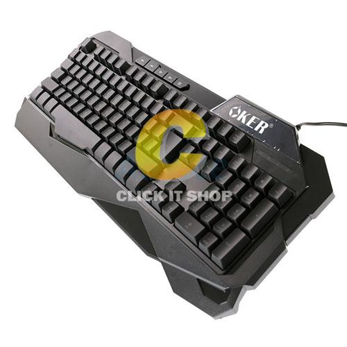 Keyboard OKER (S35) Black