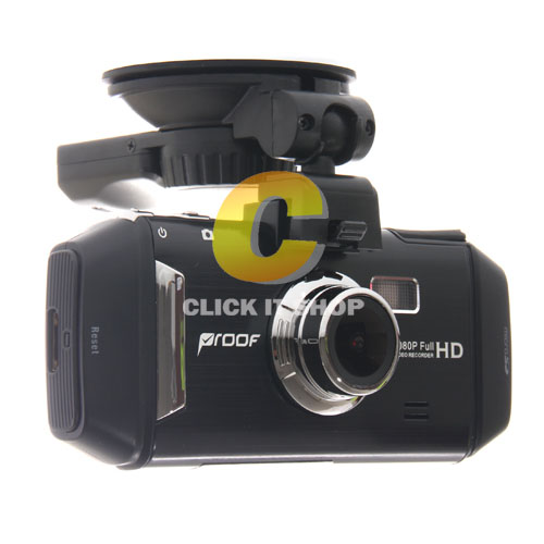 Car Camera 'Proof' PF500 (GPS) Free Micro SD Card 16GB