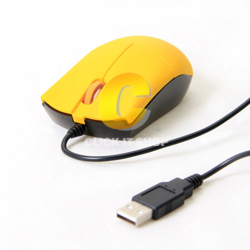 Mouse USB OKER (DL-003) Yellwo/Black
